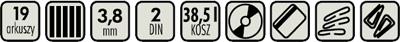 Kobra +1 SS4 ES - specyfikacja
