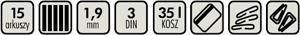 Kobra 240 SS2 ES - specyfikacja